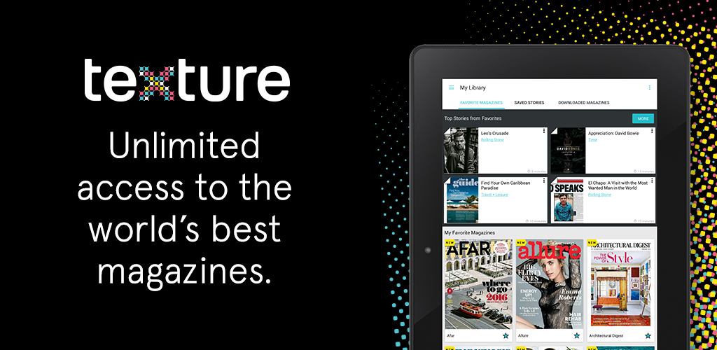 Amazon.com: Texture — Unlimited Magazines: Appstore for Android on
