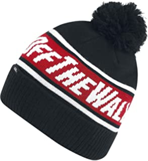 6c1566ad5c Vans Off The Wall Pom Beanie Beanie Yellow-Black  Amazon.co.uk  Clothing