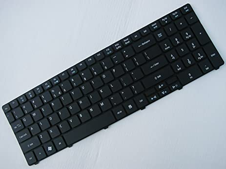 Brand New Replacement Keyboard (Black)  for Acer Aspire 5810T-8929 Timeline Laptop /