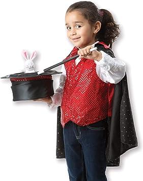 Melissa & Doug - Disfraz de mago para niños (18508), 3-6 años ...