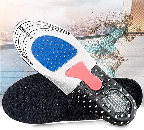 KSL Plantilla Deportiva 2 Pares de Plantillas Blandas, Plantilla Ajustable, for amortiguar Las Suelas de los Zapatos de fútbol/Correr/Caminar, Plantillas ortopédicas Plantillas de Soporte for el Arco: Amazon.es: Deportes y aire libre