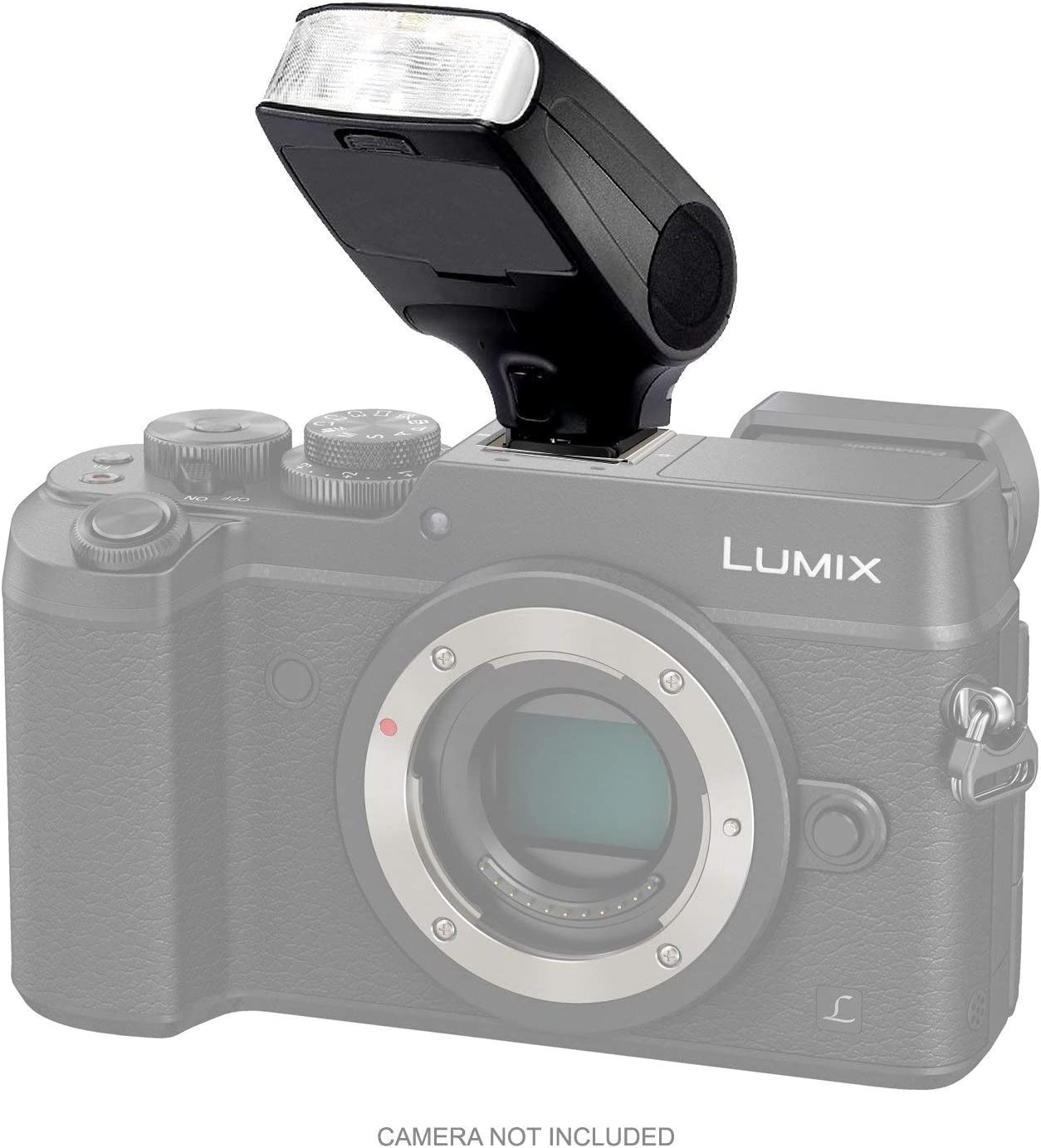 Panasonic Lumix Olympus Evolt Compact LCD Mult-Function Flash TTL, M, Multi