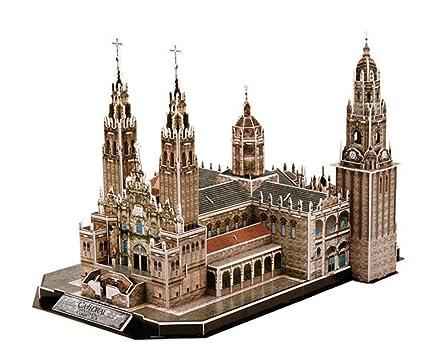 CubicFun- Puzzle 3D Catedral de Santiago (CPA Toy Group Trading SL MC184)