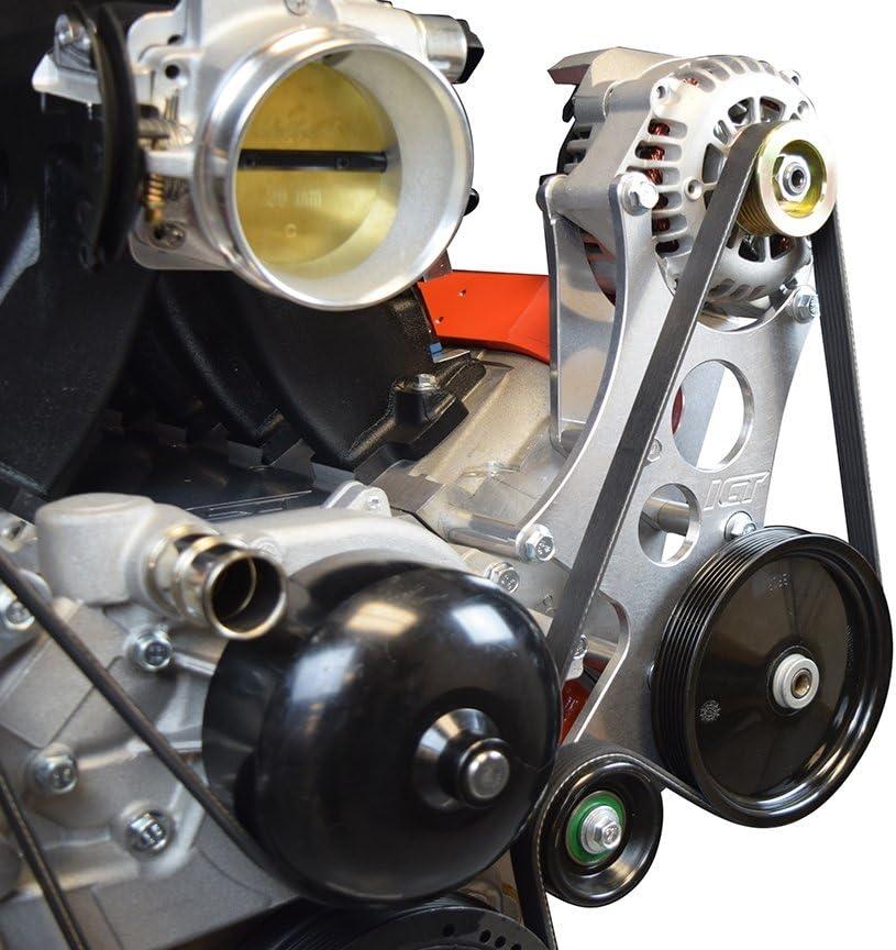 Engine Kit Products ICT Billet Corvette LS High Mount Alternator ...