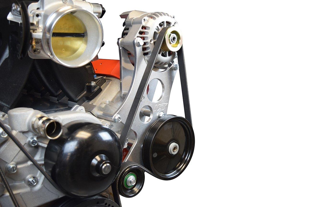 Corvette LS alta pantalla plana Alternador Bomba de dirección asistida y soporte Kit de accesorios turbo LS1 551362 - 1: Amazon.es: Coche y moto