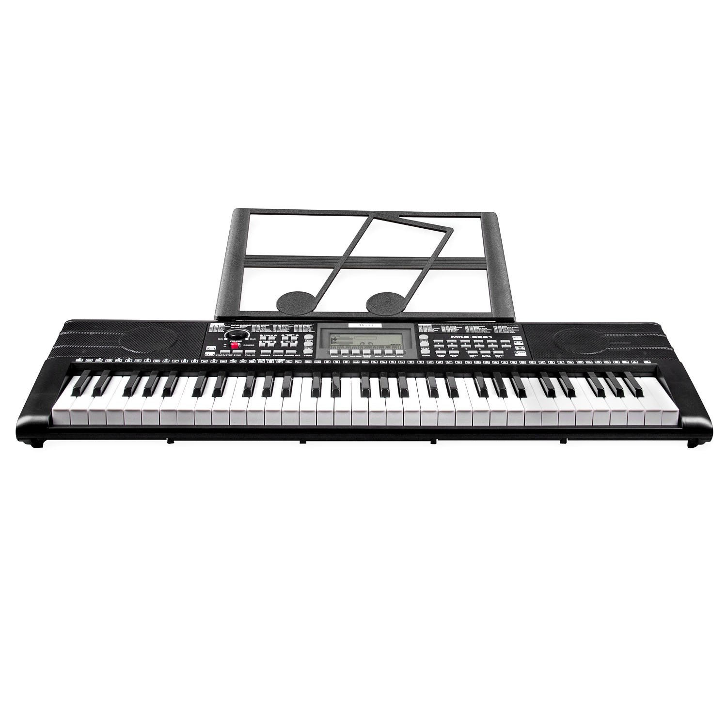 Keyboard Piano, Mugig 61-key Portable Electric Keyboard Piano with Sheet Music Stand, 3 Intelligent Education Teaching Mode, Dual Power Supply&USB Port (Kids & Adults) by Mugig (Image #7)