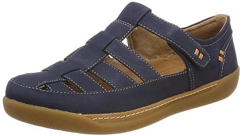 Clarks Step Verve Lo, Zapatillas Para Mujer, Azul (Navy), 37 EU
