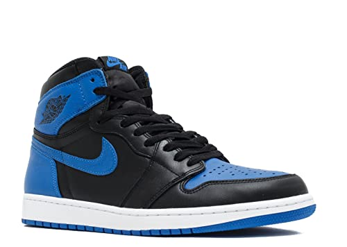 Nike Air Jordan 1 Retro High OG, Zapatillas de Deporte para Hombre, Negro/Marrón (Black/Black-Gum Light Brown), 42 EU