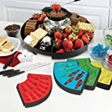 Kalorik Three-In-One Chocolate Fondue, Gummy, S'mores and Marshmallow Treat Maker