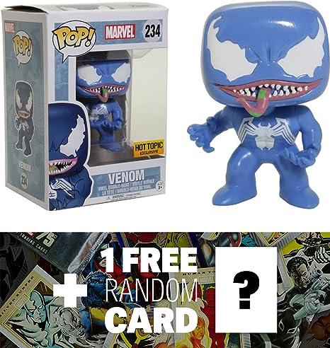 Amazon Com Venom Blue Hot Topic Exclusive Funko Pop Marvel X