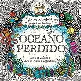 capa de Oceano Perdido. Livro de Colorir e Aventura Submarina