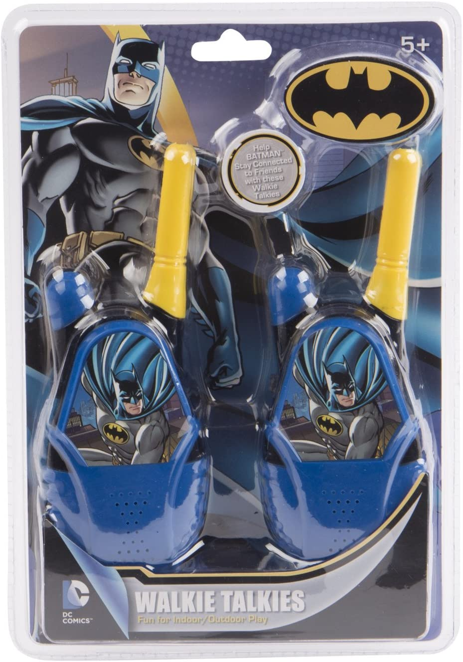 NEW Justice League Batman Molded Walkie Talkies FREE SHIPPING