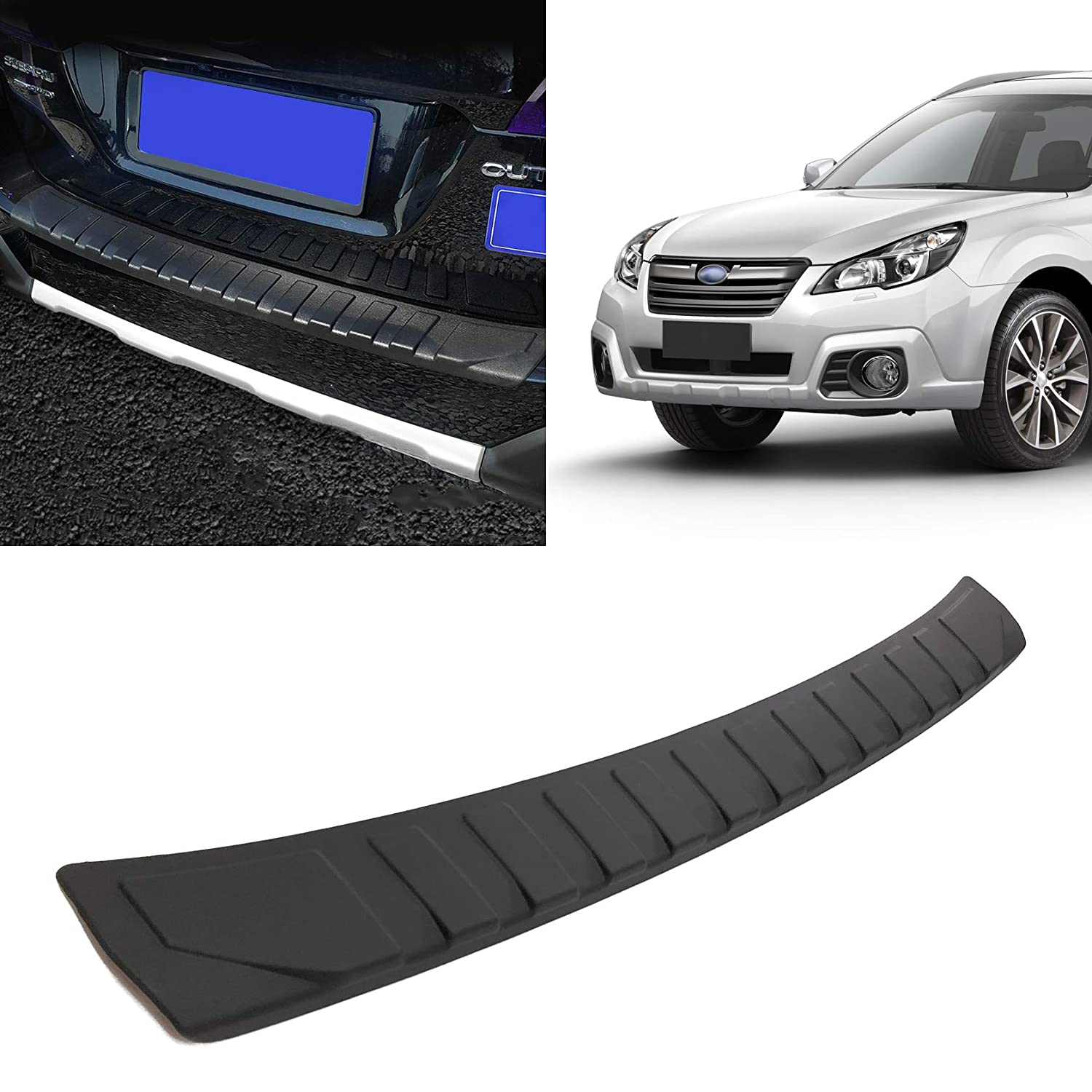 Toryea Rear Bumper Protector Guard Accessory Trim Cover Fit Subaru Outback 2015 2016 2017 2018 2019