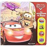 Cars: La sorpresa de Mate (Libro con 4 botones con sonido)