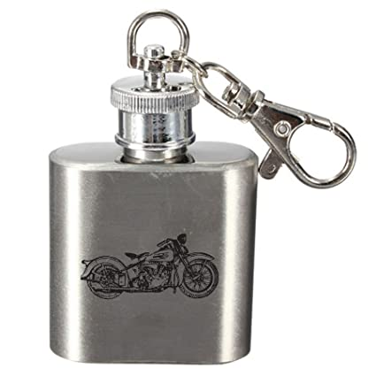 Amazon.com   Laser Engraved 1oz Stainless Steel Hip Flask ...