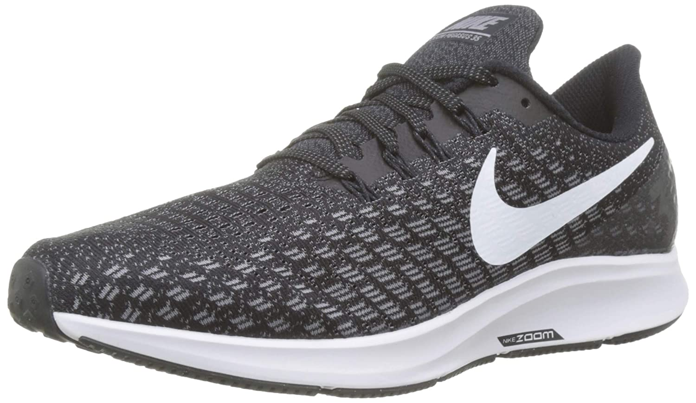 MultiCouleure (noir blanc Gunsmoke Oil gris 001) Nike Air Zoom Pegasus 35 (W), Chaussures de Running Compétition Homme 45 EU