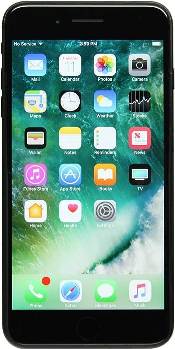Apple iPhone 7 Plus, 32GB, Black - Fully Unlocked (Renewed)