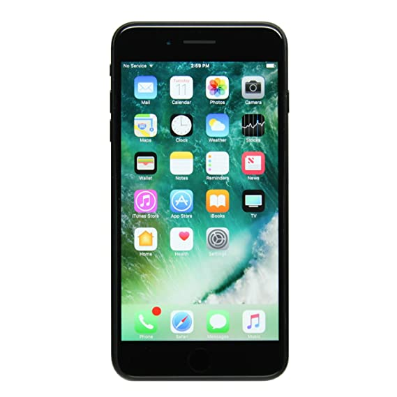 new concept ff68e b34e4 Apple iPhone 7 Plus 256GB Unlocked GSM Quad-Core Phone - Black (Renewed)