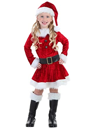 c31b60b98 Amazon.com: Toddler Mrs Claus Costume Red: Clothing