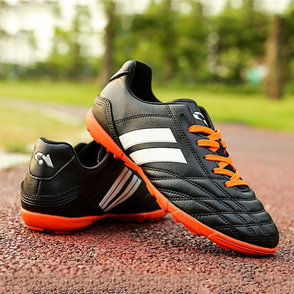 bd0acedb5 YING LAN Mens Boys Turf Cleats Soccer Athletic Football Outdoor//Indoor  Sports Shoes TF