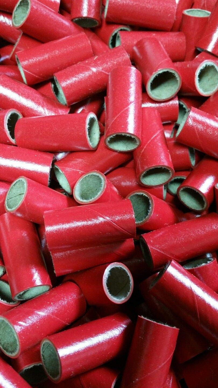 "50 Fireworks M80 Kraft Gloss Red PYRO Cardboard TUBES 9//16/"" x 1-1//2/"" x 1//16/"""