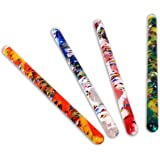 Spiral Glitter Wand Tubes 32 cm Long Multicoloured By Playlearn by Playlearn