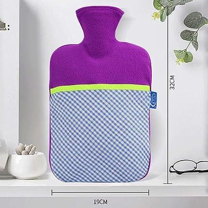 YUN Couture Contraste Couleur PVC Rinçage Bouteille d'eau