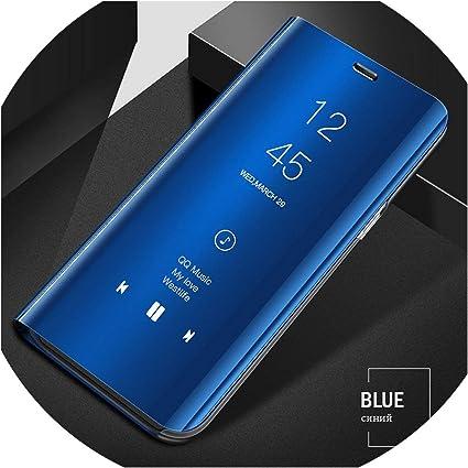 360 Mirror Flip Case for Samsung Galaxy S6 S7 S8 Plus Edge Case ...