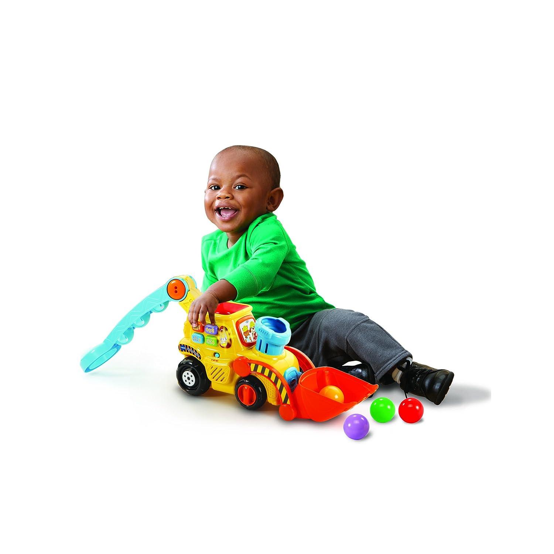 1 Mes Child es pl/ástico 3 Mes es Juguetes de Arrastre Ni/ño//ni/ña VTech Baby 80-506004 Juguete de Arrastre