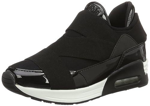 Buffalo 100-30 NEOPREN Suede, Zapatillas para Mujer, Negro (Black 612), 38 EU: Amazon.es: Zapatos y complementos