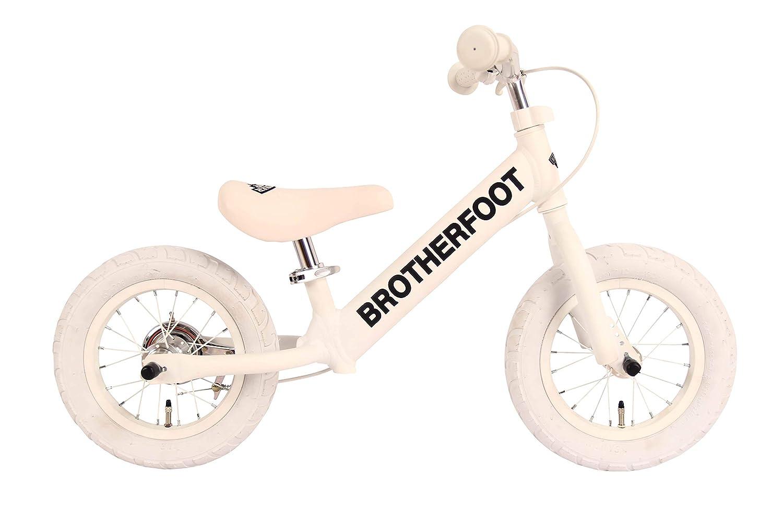 ブラザーフット(BROTHER FOOT) キッズ用キックバイク THE FIRST TRACK 12 BFFT-023 WHITE(ホワイト) BFFT-023 ホワイト   B07KRCYRCS