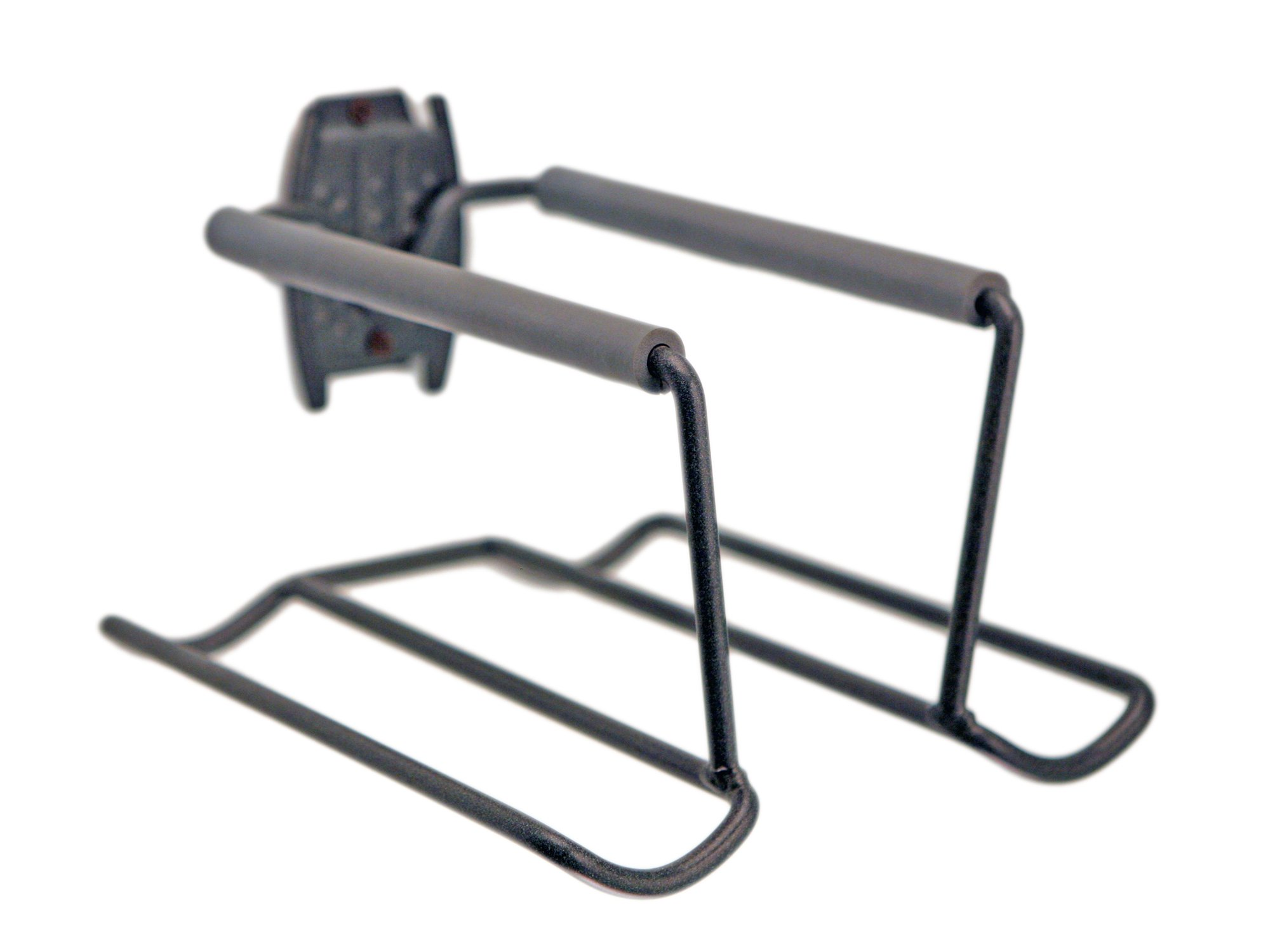 Organized Living - 7115502050 Activity Organizer Racquet Rack Granite Gray