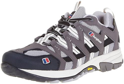 Berghaus Prognosis - Zapatillas de senderismo de malla mujer, Gris/Negro, 35.5: Amazon.es: Zapatos y complementos