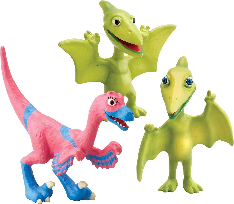 ERTL Dinosaur Train Collectible Dinosaur Figure 3-Pack: Mr. Pteranodon, Don, and Velma: Amazon.es: Juguetes y juegos