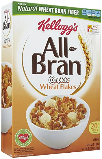 What are bran flakes made of
