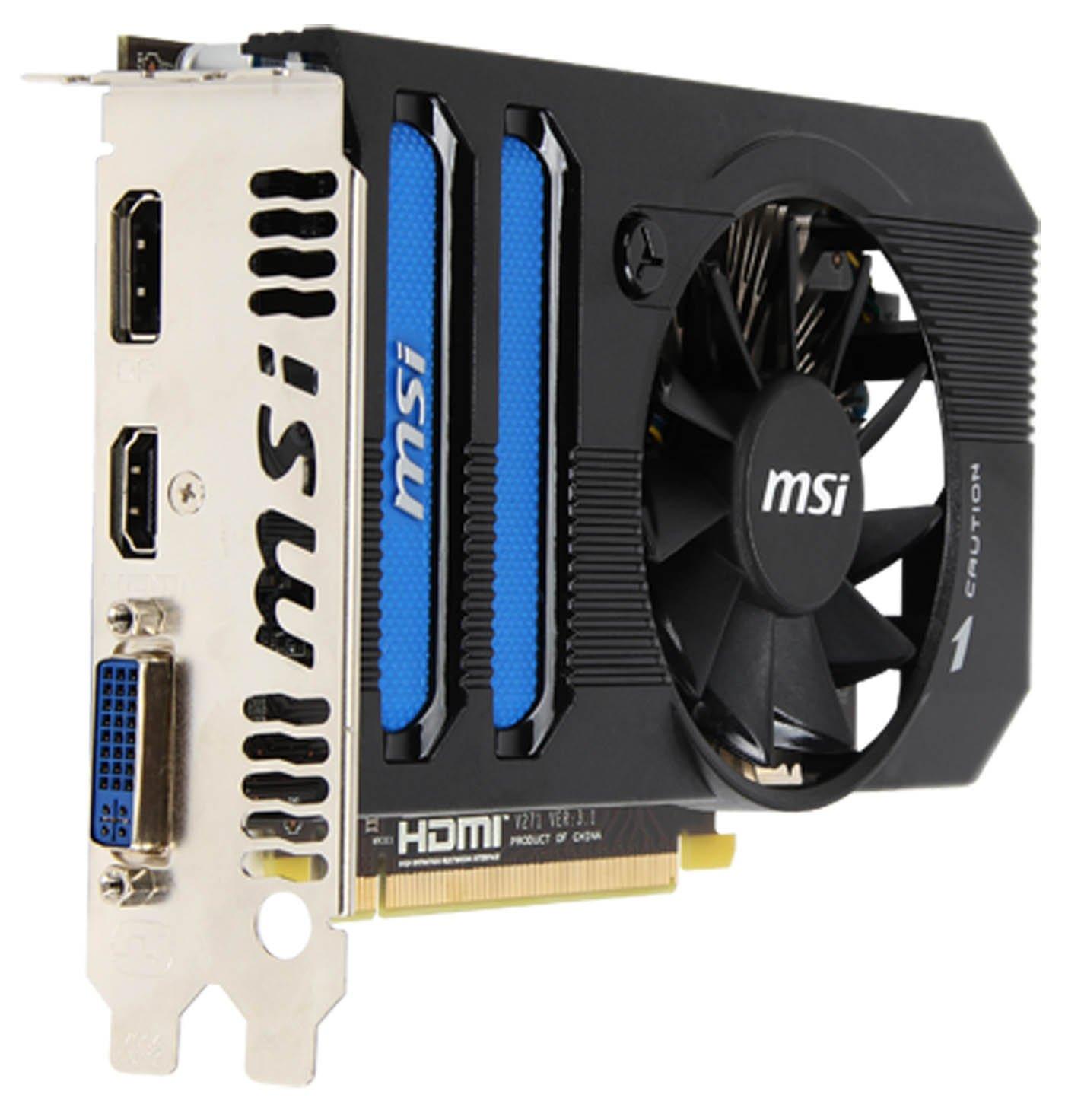 Amazon.com: MSI AMD Radeon HD 7770 1GB GDDR5 DVI/HDMI ...