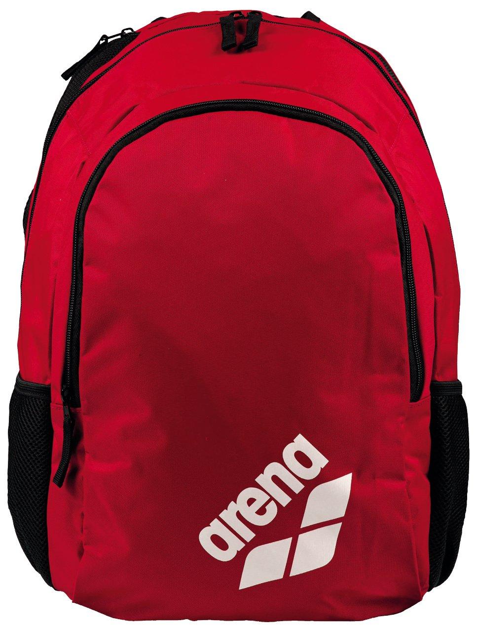arena Spiky 2 Swim Backpack, Red Team