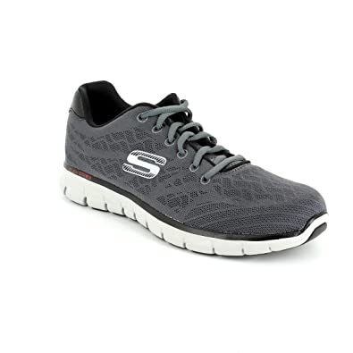 a07a35eb5fb8 Skechers 51524 FINE Tune MF Grey Mens Trainers  Amazon.co.uk  Shoes   Bags
