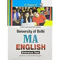 DU: M.A. English Entrance Test Guide