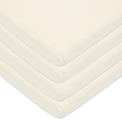 Blue for Boys and Girls Fitted Soft Breathable American Baby Company 100/% Natural Cotton Jersey Knit 18 x 36 Cradle Sheet