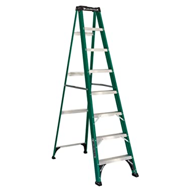 Louisville Ladder FS4008 Step Ladder, 8 Feet, Green
