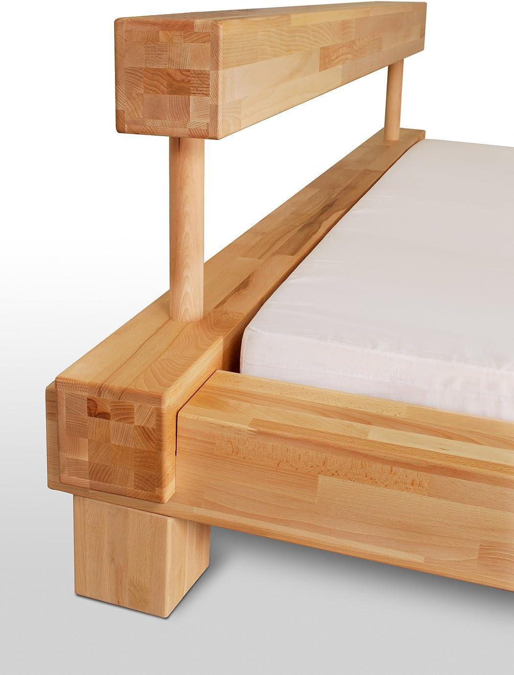Vigas de cama futón cm o 140 x 200 cm madera maciza BOSTON ...