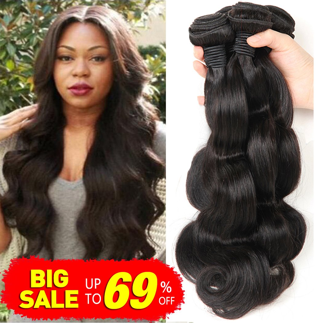 Amazon Bestsojoy Brazilian Body Wave Hair 4 Bundles 100