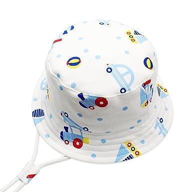 iClosam Chapeau de Soleil Plage Anti-UV Solaire pour Bébé Enfant Outdoor  Coton c7af14a8aff