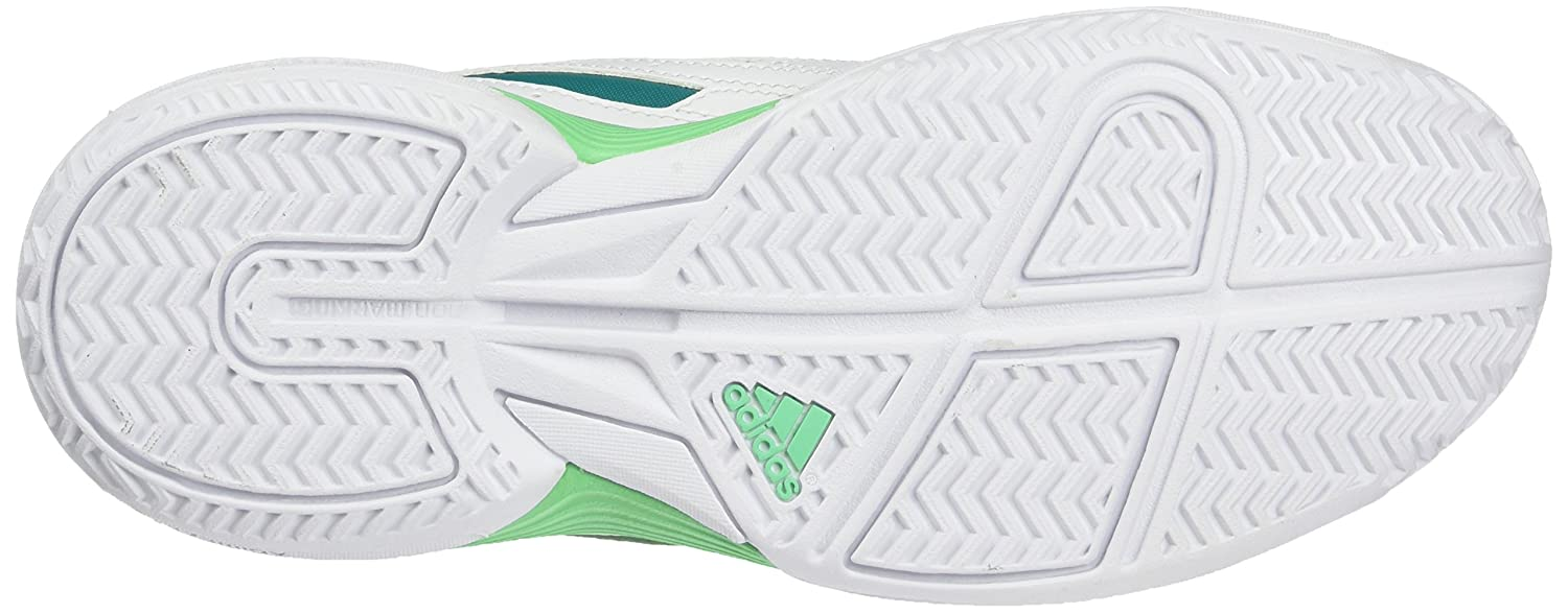 big sale 8721c 63b84 adidas Performance Sonic Attack, Womens Tennis Shoes, White (FTWR WhiteEQT  Green S16Green Glow S16), 6.5 UK (40 EU) Amazon.co.uk Shoes  Bags