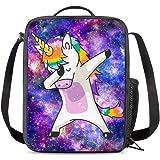 648ee5c0e306 Amazon.com: PrelerDIY Galaxy Pegasus Lunch Bag Carrying Tote ...