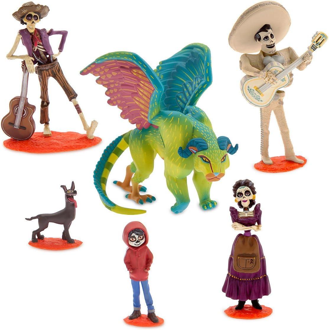 Disney - Coco 6 pcs Figurine Play Set: Amazon.es: Juguetes y juegos