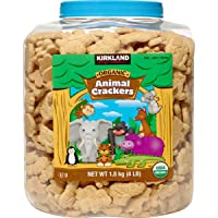 Kirkland Signature Usda Certified Organic Animal Crackers 4lb Container 2 - Count