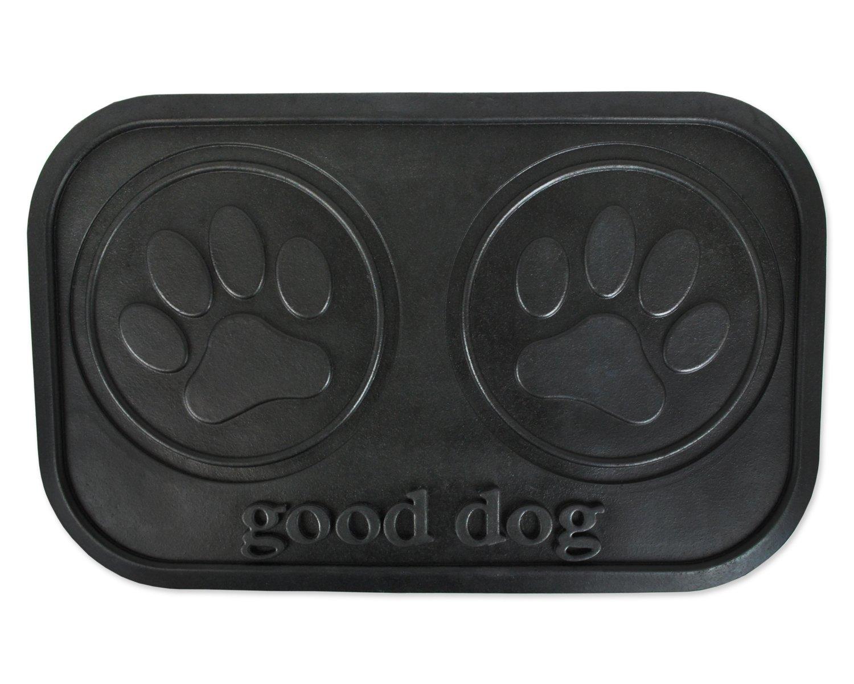 #1. Bone Dry Rubber Pet Feeding Food/Water Mat
