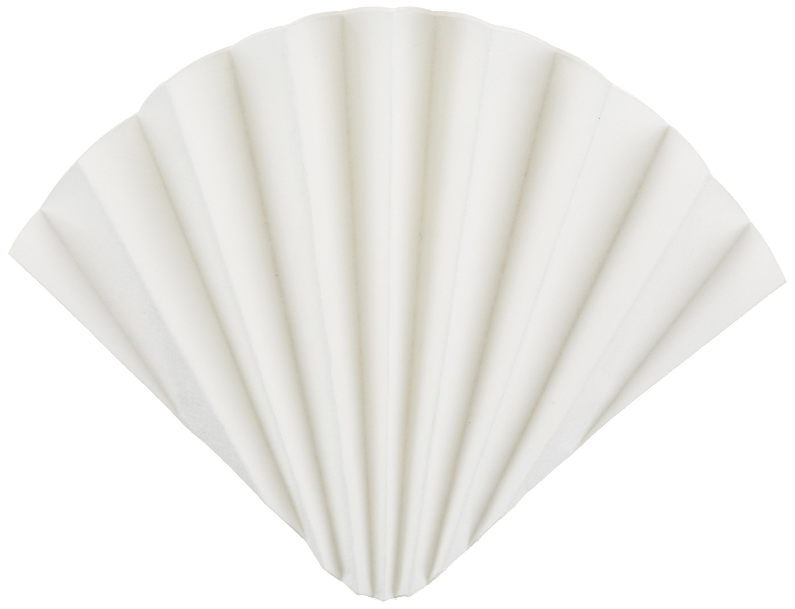 GE Whatman 10313947 Prepleated Cellulose Qualitative Filter Paper for Determination of Malt and Wort in Beer, Grade 2555 1/2, Folded, 12µm Pore Size, 185mm Diameter (Pack of 100)